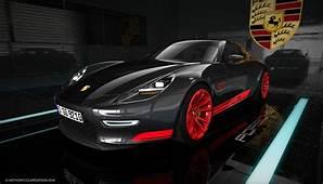The Porsche 921 Vision Design Concept Revives 928