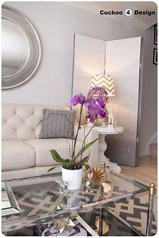 Purple And Gold Home Decor Ideas by Brasselicious Cuckoo4design