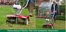 Removing Thatch From Lawns Mantis Uk Expect Big Things