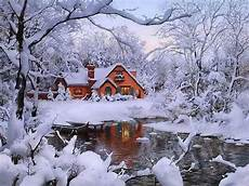 winter vacation home winter winter house winter