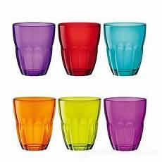 bicchieri colorati bormioli set 6 bicchieri colorati ercole bormioli