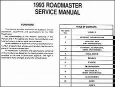 car repair manuals online free 1993 buick roadmaster free book repair manuals 1993 buick roadmaster repair shop manual original