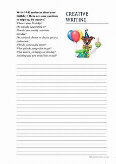 birthday worksheets for adults 20191 creative writing write that
