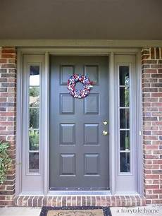 exterior paint colors to go with red brick door sealskin