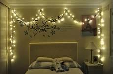 decoration chambre avec guirlande lumineuse