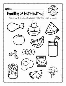 healthy and not healthy foods worksheet healthy foods posters worksheets and activities the super teacher