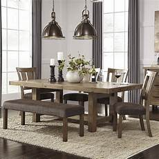 signature design by ashley 9 piece dining set reviews wayfair