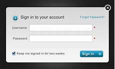 10 free psd login form designs web design element freebie psd idesignow