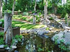 Kleiner Teich Mit Bachlauf - the place for a pond hgtv