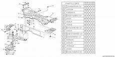 21342ga020 Genuine Subaru Bushing