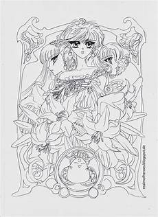 Anime Malvorlagen Novel Magic Rayearth Realm Of Heroes Coloring Pages