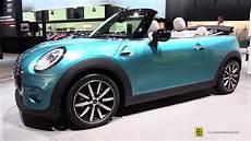 mini cabrio cooper 2017 mini cooper cabrio 136ch exterior and interior