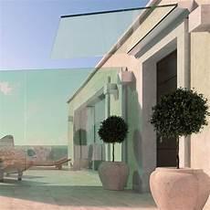 Marquise En Verre Transparent Ou Color 233 Faraone Srl