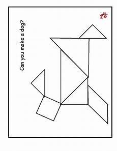 Tangram Kinder Malvorlagen Easy 121 Best Tangrams Images On Pre School Busy