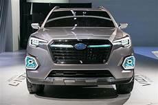 subaru viziv 7 suv concept front end motor trend