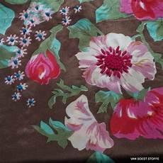 Stoff Mit Ausgefallenem Blumenmuster - ausgefallene modestoffe spitzen pailletten chiffon