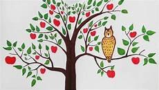 Baum An Wand Malen Vorlagen Wunderbar Kinderzimmer Bemalen