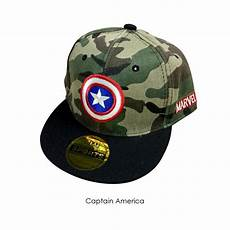 4gl kids cap camo design superheroes cap baseball cap topi superheroes budak g0406