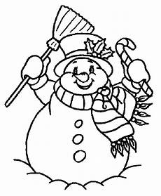 Ausmalbilder Schneemann Gratis Snowman Coloring Pages To And Print For Free
