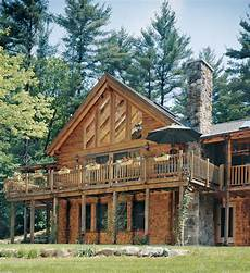 decking choices for your new log home real log homes
