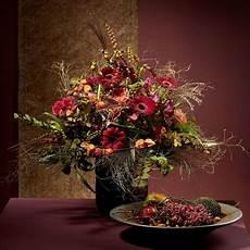 composizioni fiori autunnali centrotavola dai colori autunnali