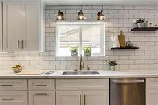 white ceiling fan subway kitchen backsplash ideas subway tile kitchen backsplash ultimate guide modern