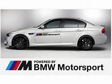 aufkleber passend f 252 r bmw powered by bmw motorsport