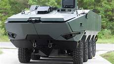 armored future personnel carriers that resemble tesla
