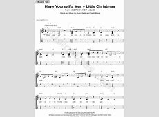 have yourself a merry little christmas tab