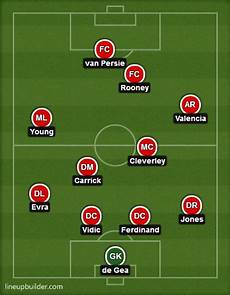 how manchester united will line up at liverpool bleacher