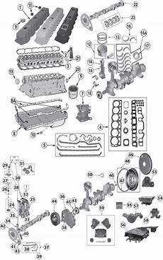 1987 2006 Jeep 174 4 0l 242ci Inline 6 Cylinder Engine