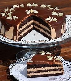 crema de patiserie jamila tort cu crema de ciocolata retete culinare cu laura sava receipes pinterest cake