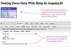 angularjs form data posting form data with http in angularjs