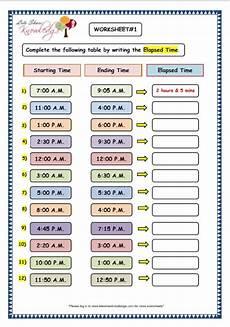 maths time worksheets for grade 3 3476 grade 3 maths worksheets 8 6 elapsed time lets knowledge