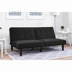 futon black mainstays arlo futon black walmart