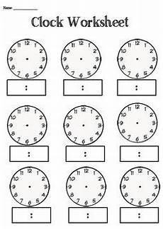 measurement worksheet reading time on an analog clock in 5 minute intervals a school