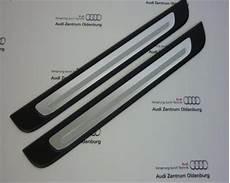 Audi A3 Einstiegsleisten 2 Teilig Aluminium Ziereinlage