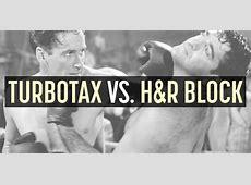 Turbotax Deluxe Vs Hr Block Deluxe Best Deal