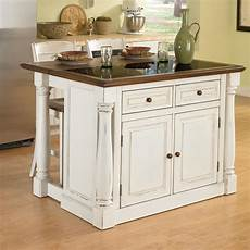 kitchen islands at lowes home styles white midcentury kitchen islands 2 stools at lowes com