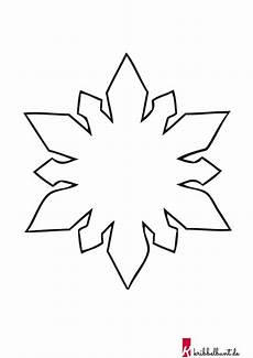 Malvorlage Schneeflocke Pdf Schneeflocken Basteln Vorlagen Zum Ausdrucken