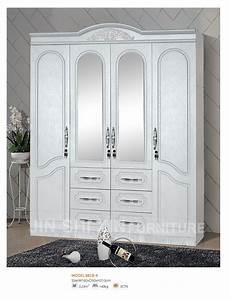 armoire de chambre 4 portes chambre armoire en bois placard armoires avec