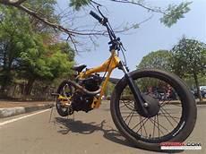 Motor Modif Sepeda Bmx by Modifikasi Unik Honda Cb Til Layaknya Bmx Honda Cb