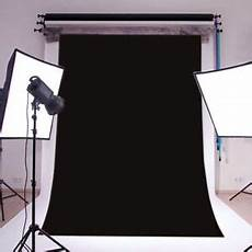3x5ft Black Photography Backdrop Background Studio by 3x5ft Polyester Plain Photography Backdrop Background