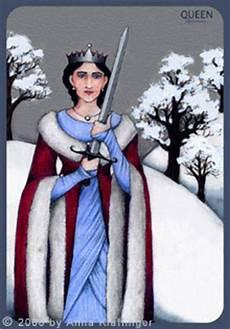 Königin Der Schwerter - k tarotkarten