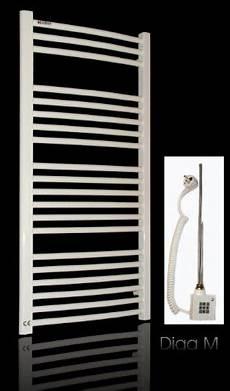 Badheizkörper 1000 Watt - elektro badheizk 246 rper 1734h x 600b weiss gebogen 1129