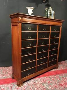 ancien cartonnier meuble classeur archive m 233 tier notaire