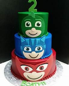 Malvorlagen Pj Masks Cake Pj Masks Inspired Birthday Cake Customcake