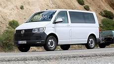 vw transporter t7 spied here s your look
