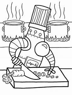 konabeun zum ausdrucken ausmalbilder roboter 23481
