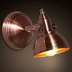 vintage loft copper color iron wall l living room aisle staircase wall sconce beautiful